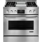 """Pro-Style® Gas Range with Griddle and MultiMode® Convection, 36"""", Pro-Style® Stainless Product Image"""
