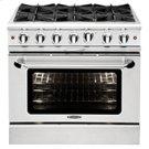 "Culinarian 36"" Gas Manual Clean Range Product Image"