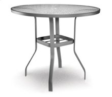 "48"" Round Bar Table (with Hole) Ht: 40"" 37XX Universal Aluminum Base (Model # Includes Both Top & Base)"