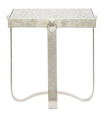 Portia Metal Round End Table