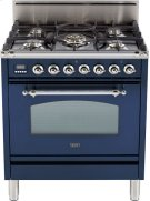 """Midnight Blue - Nostalgie 30"""" Gas Range Product Image"""