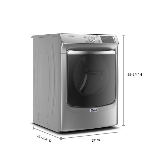 Smart Front Load Gas Dryer with Extra Power and Advanced Moisture Sensing with industry-exclusive extra moisture sensor - 7.3 cu. ft.