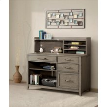 Vogue - Computer Credenza - Gray Wash Finish