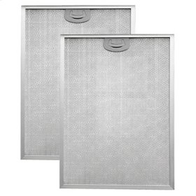 """Aluminum Replacement Grease Filter with Antimicrobial Protection for 30"""" QP2 Series"""
