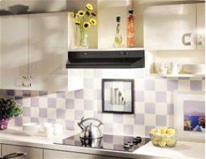 "36"" 220 CFM Black Under Cabinet Range Hood"