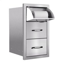 Towel/2-Drawer Combo (Masonry Flange)