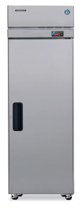 HOSHIZAKI Refrigerator, Single Section Upright, Full Stainless Door