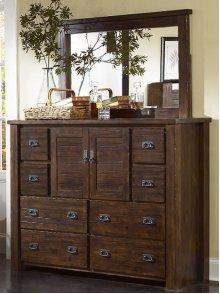 Mirror - Mesquite Pine Finish
