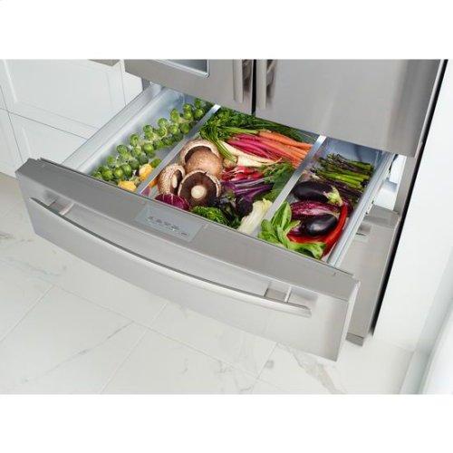 """69"""" Standard-Depth French Door Refrigerator"""