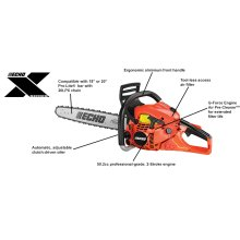 CS-501P Rear Handle Chainsaw ECHO X Series