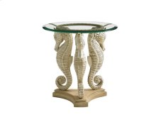 Sea Horse Table W/24 Tempered
