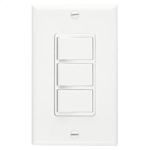 3-Function Control, 20 amp.,120V, White