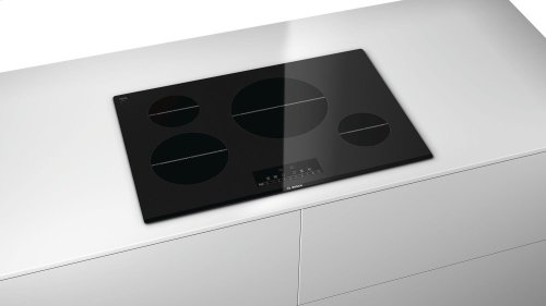 """Serie  6 30"""" Induction Cooktop 800 Series - Black"""
