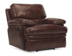 Dylan Leather Recliner without Chaise Footrest Product Image