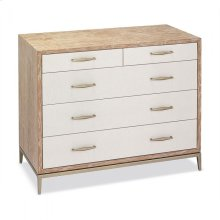 Corinna 5 Drawer Chest - White