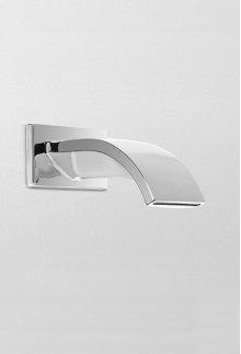 Polished Chrome Aimes® Wall Spout