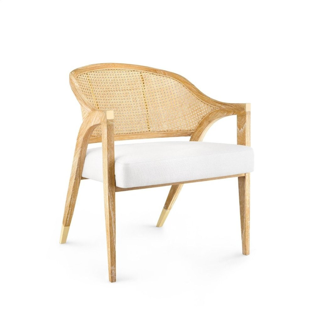Edward Lounge Chair, Natural