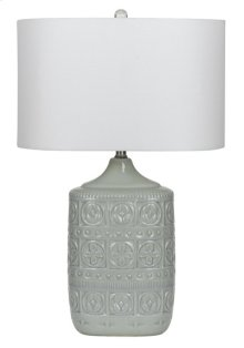 150W 3 way Minden ceramic table lamp (sold and priced as pairs)