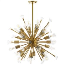Burst Ceiling Light Pendant Chandelier in