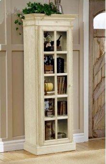 Wilshire Small Library Cabinet Antique White