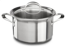 5-ply Copper Core 8-Quart Stockpot with Lid - Stainless Steel Finish