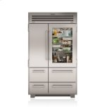 "SUB-ZERO48"" PRO Refrigerator/Freezer with Glass Door"