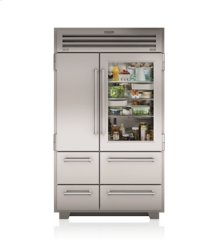 "48"" PRO Refrigerator/Freezer with Glass Door"