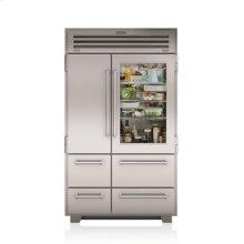 """48"""" PRO Refrigerator/Freezer with Glass Door"""