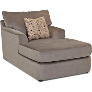 Klaussner Two Arm Chaise