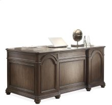 Belmeade Executive Desk Old World Oak finish