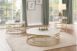 Brassica Round Cocktail Table