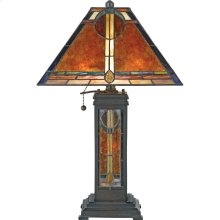 Museum of New Mexico Table Lamp in Valiant Bronze