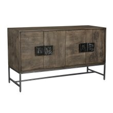 Bengal Manor Scraped Iron Parkview Sideboard