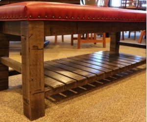 Yellowstone Rustic Bench