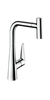 Chrome Talis Select S 1-Spray HighArc Kitchen Faucet, Pull-Out, 1.75 GPM