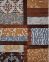 Contour Con11 Multicolor Rectangle Rug 5' X 7'6''