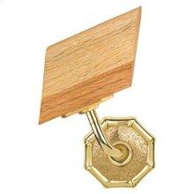 Handrail Bracket w/Small Bamboo Rose