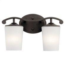 Versailles 2 Light Vanity Light Olde Bronze®