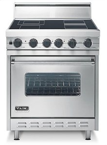 "Cotton White 30"" Electric Range - VESC (30"" wide range with single oven)"