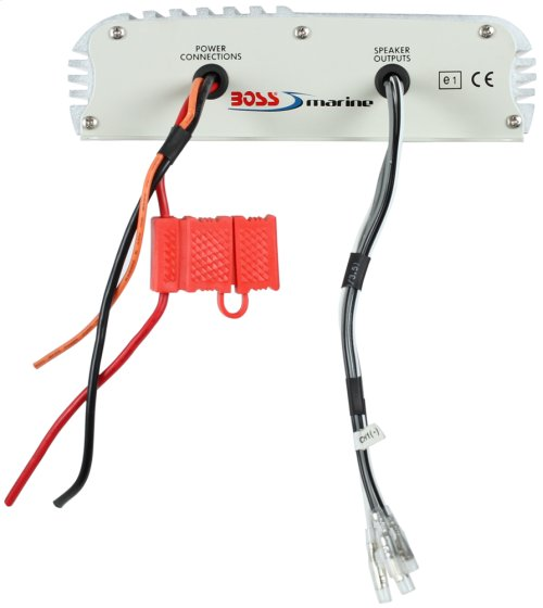"""800W 2 Channel Full Range, Class A/B Amplifier Dimensions 8.75""""L 7.25""""W 2.25""""H"""