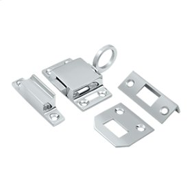 Transom Catch - Polished Chrome
