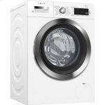"24"" Compact Washer, with Home Connect, , White/Chrome"