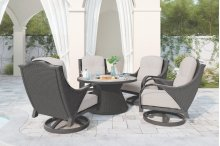 Swivel Lounge w/Cushion (2/CN)