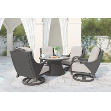 Swivel Lounge w/Cushion