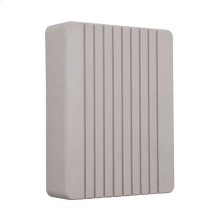 Grooved Cover Chime in French Gray