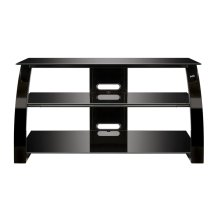 High Gloss Black FInish Flat Panel Audio/Video Furniture
