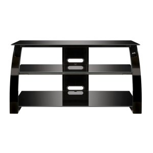 Bell'oHigh Gloss Black FInish Flat Panel Audio/Video Furniture