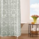 Kate Shower Curtain, PEWTER, ONE Product Image
