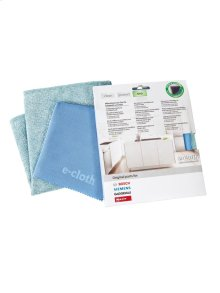 Microfiber E-Cloths Set of 2