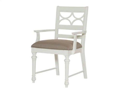 Fret Work Arm Chair-kd